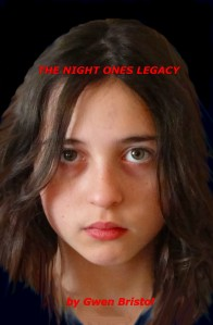 The Night Ones Legacy book cover--Ruby Rift is the most most recent draft of a possible sequel.
