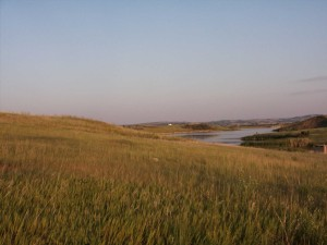 An afternoon at Fish Creek in North Dakota