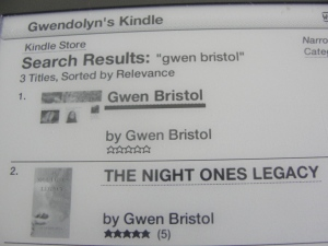 See the first listing? That's my blog! On Kindle!