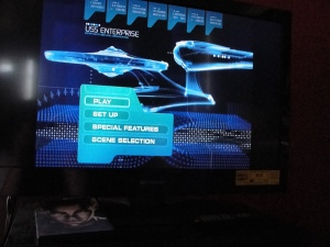 Star Trek on my television screen :)