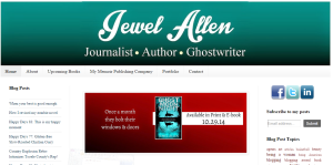 visit http://jewelallen.blogspot.com to learn more about this talented writer and her new book