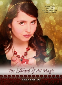 'The Heart of All Magic' went live for Kindle tonight! :)